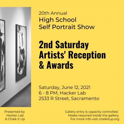 20th Annual High School Self Portrait Show: 2nd Saturday Artists' Reception
