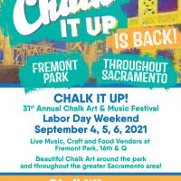 Chalk It Up! Chalk Art and Music Festival