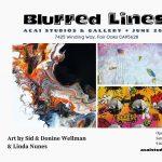 Blurred Lines Art Show