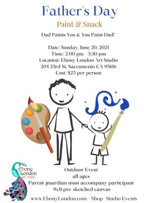 Father's Day Paint and Snack (Sold Out)