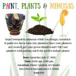 Paint, Plants and Mimosas