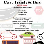 Car, Truck and Bus Paint and Snack