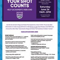 Your Shot Counts: Help Sacramento Rebound