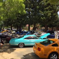 Mustangs and Fords at the Marriott 24th Annual Car Show
