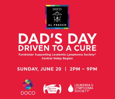 DOCO Al Fresco: Dad's Day Driven to a Cure