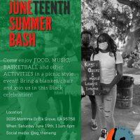 The Rising Host: Juneteenth Summer Bash