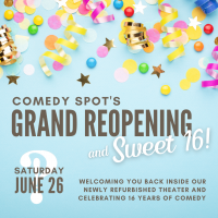 Grand Reopening Sweet 16 Show