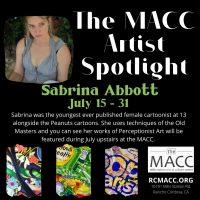 Artist Spotlight with Sabrina Abbott