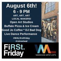 First Friday Open Studios at Warehouse Artist Lofts
