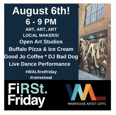 First Friday Open Studios at Warehouse Artist Loft...