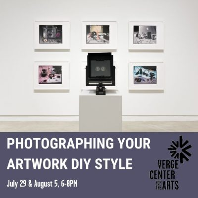 Photographing Your Artwork DIY Style