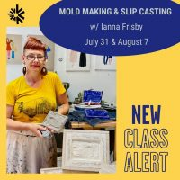 Mold Making and Slip Casting Workshop