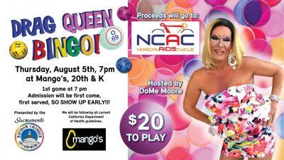 Sacramento Rainbow Chamber's Monthly Drag Queen Bingo