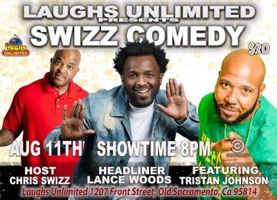 Swizz Comedy: Headliner Lance Woods