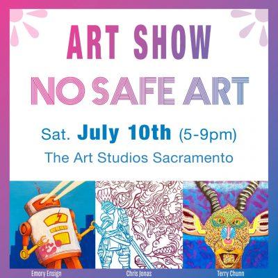 No Safe Art Art Show