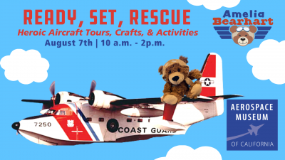 Ready, Set, Rescue: Heroic Aircraft Tours, Crafts, and Activities