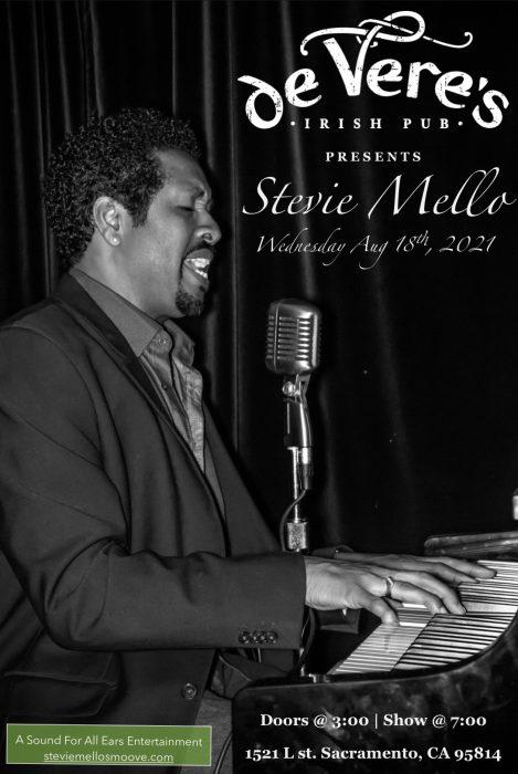 Stevie Mello at de Vere's Irish Pub