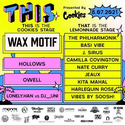 THIS Midtown with Wax Motif