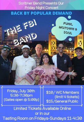 Friday Night Concert with FBI Band