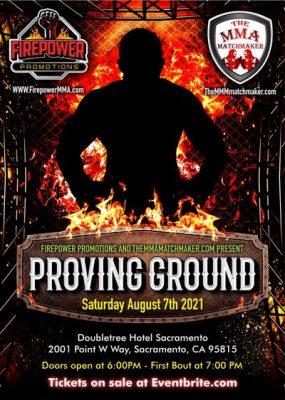 Proving Ground Live MMA Sacramento