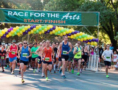 Race for the Arts 5K, Kids' Fun Runs and Arts Festival