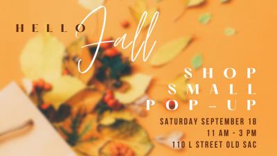 Hello Fall Shop Small Pop-Up