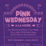Pink Wednesday A La Mode
