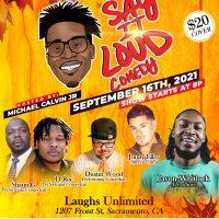Say It Loud Comedy starring Javon Whitlock