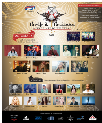 Golf and Guitars Children's Charity Music Festival
