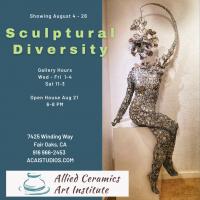 Sculptural Diversity August Exhibition