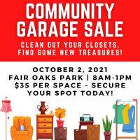 Fair Oaks Community Garage Sale (CANCELLED)