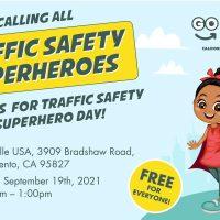 Traffic Safety Superhero Day