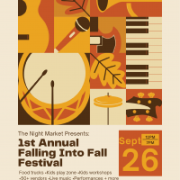 The Night Market Series presents Falling Into Fall...