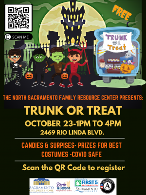 North Sacramento Family Resource Center Trunk-or-T...
