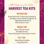 Harvest High Tea with The Novel Tea