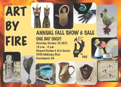 Sacramento Potters Group: Art by Fire Fall Holiday Sale