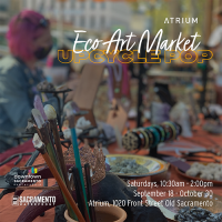 Atrium Fall Eco Art Market-Upcycle Pop