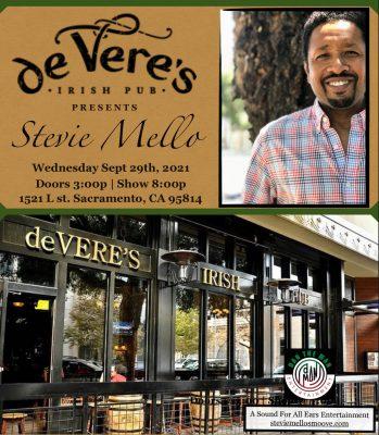 Stevie Mello at de Verés Irish Pub