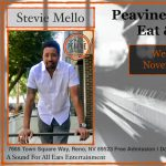 Stevie Mello at the Peavine TapHouse Eats and Beat...
