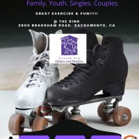 Center for Fathers and Families Skate Night