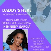 Daddy's Here Father Support Group