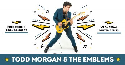 Wednesday Nooner: Todd Morgan and The Emblems