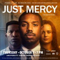 Just Mercy Outdoor Film Screening