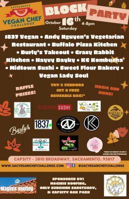 Sacramento Vegan Chef Challenge Block Party
