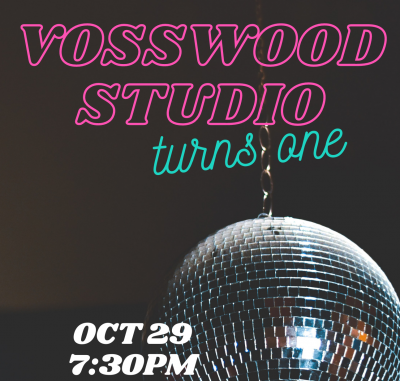 Vosswood Studio One Year Anniversary
