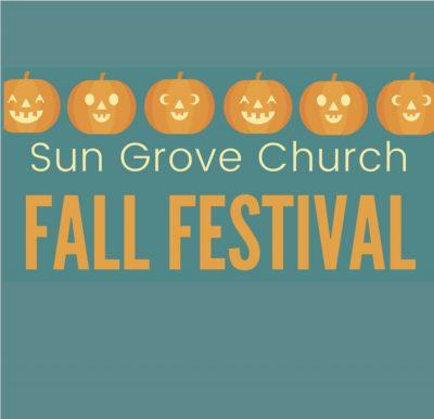 Sun Grove Church Fall Festival