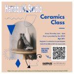 Ceramics Hand Build Open Studio for Seniors