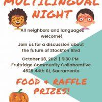 Harvest Festival Multilingual Event