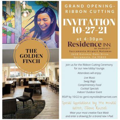 Residence Inn Lobby Grand Opening and Ribbon Cutting