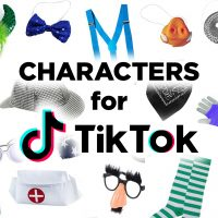 Characters for Tik Tok
